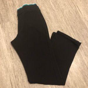 Armani Exchange sweatpants AX sweatpants black